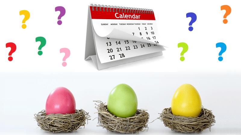 De ce sărbătorim Paştele la altă dată, în fiecare an?