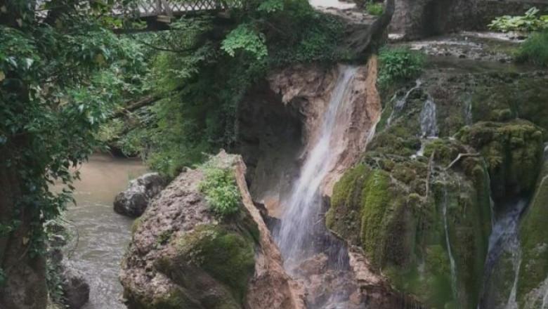 Celebra Cascada Bigar s-a prabusit in urma cu cateva ore