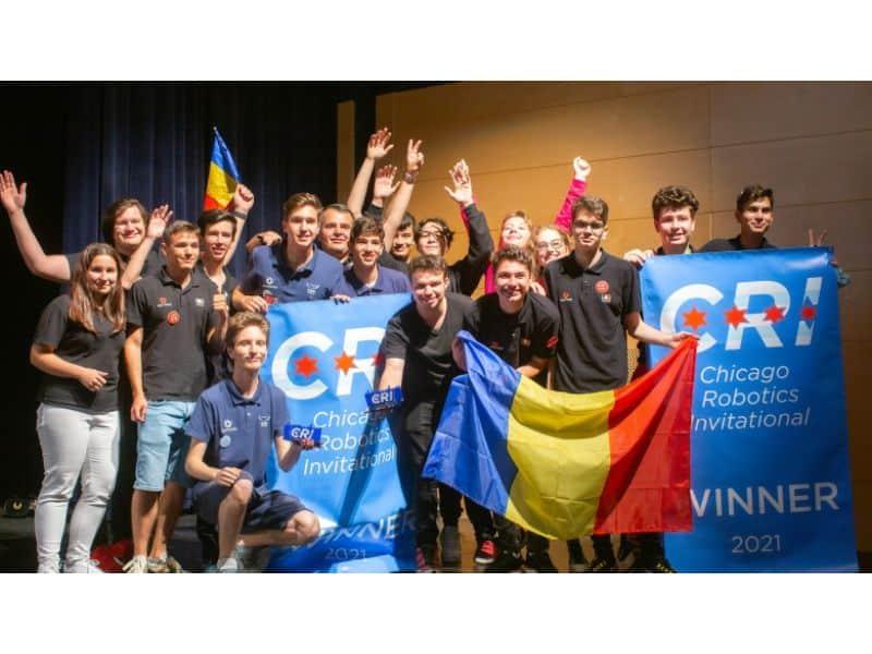 Mare succes! Echipa Romaniei a castigat locul I la Chicago in cadrul Campionatului Mondial de Robotica